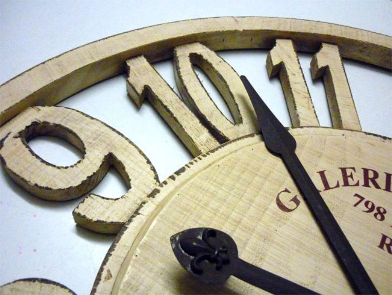 Orologi da parete in legno perch sceglierli orologi - Parete in legno fai da te ...