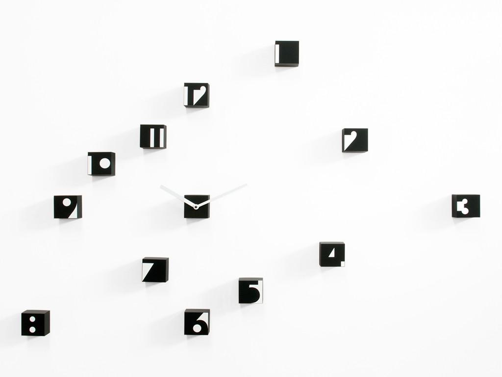 orologio da parete adesivo e componibile