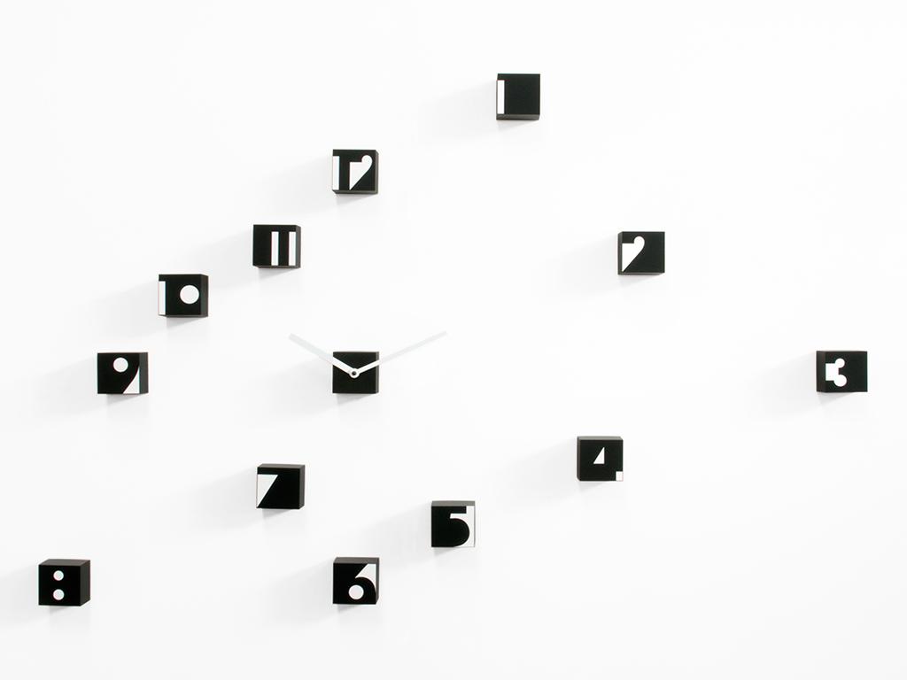 Orologio da parete adesivo e componibile ecco come for Orologi da parete dalani