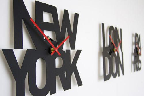 Orologi da parete con i fusi orari perch sceglierli for Orologi arredamento design