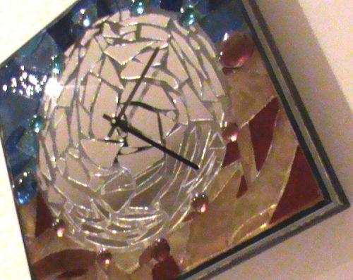 Orologi da parete in vetro