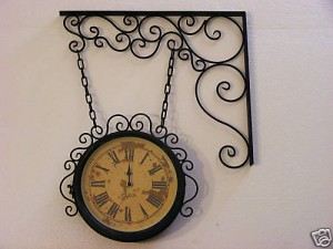 orologi da parete in ferro battuto