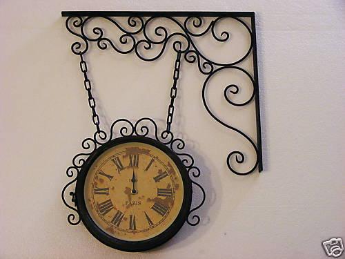 Orologi da parete in ferro battuto stile liberty orologi for Arredamento stile liberty