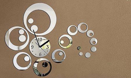 orologio adesivo soggiorno